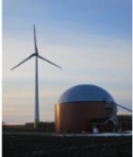 Vindkraft och biogas