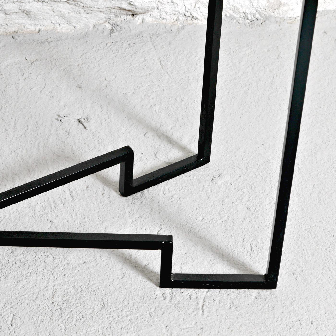 Sideboard, svart metallstomme