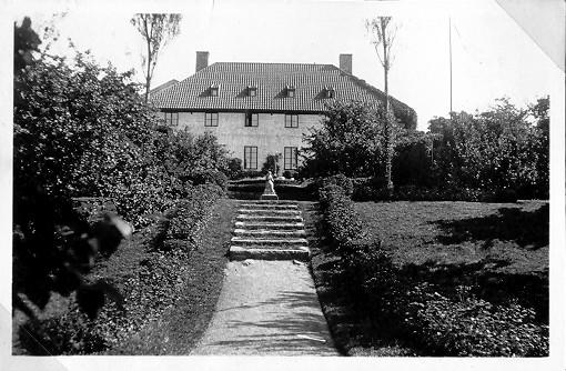 Bild från 1920-talet. Silvénska villan