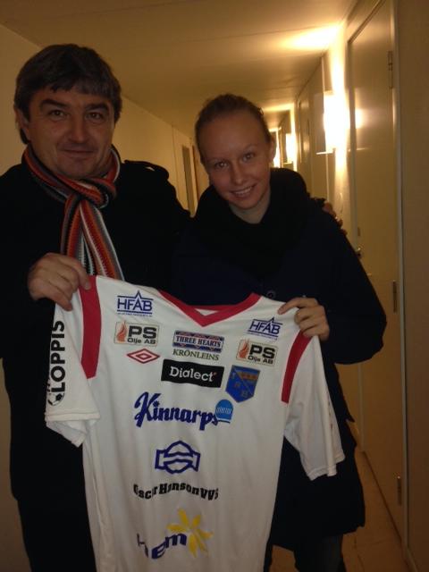 Ferenc Horvat och Julia Arvidsson