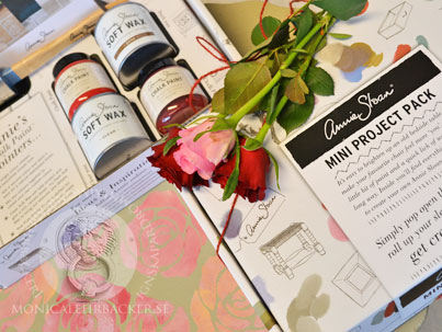 Annie Sloan Mini Projekt Paket som Alla Hjärtans Dags present
