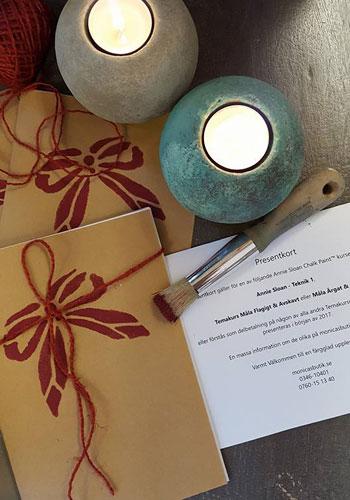 Presentkort Kurser Annie Sloan Chalk Paint™ i Monicas Butik