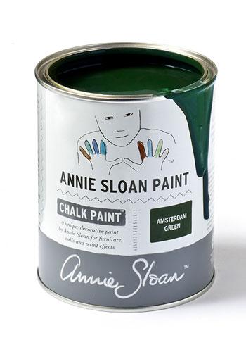 Annie Sloan Chalk Paint Amsterdam Green i Monicas Butik, webshop och butik med klassisk & lantlig inredning & belysning.