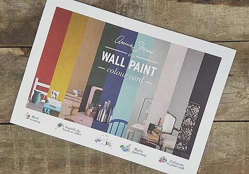 Väggfärg Wall Paint från Annie Sloan, matt lyxig känsla.