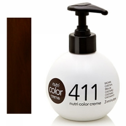 Revlon Nutri Color Creme 411 Chatain, 250 ml