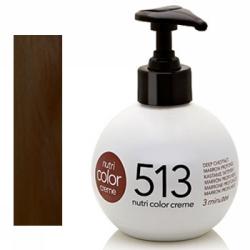 Revlon Nutri Color Creme 513 Deep Chestnut, 250 ml