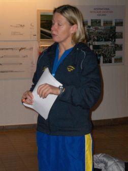 Ulrika Sandmark - Juniorkapten på NJM 2005