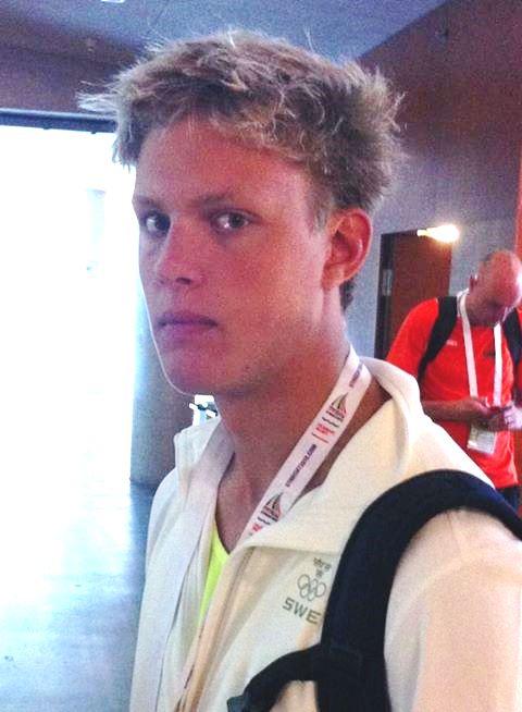 Petter Fredriksson - förste finalist bland svenskarna på Ungdoms-OS