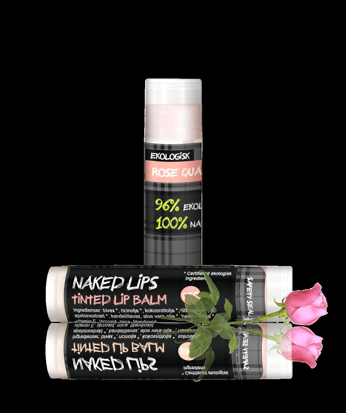 Naked Lips, Rose Quartz w rose April14