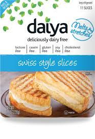 Daiya swiss style slices - Swiss style slices
