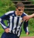 Oskar de Vahl gjorde mål för Kovland mot sin gamla klubb Granlo.