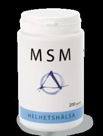 OptiMSM – 200 kapslar Helhetshälsa -
