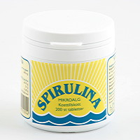Spirulina 200 tabletter -