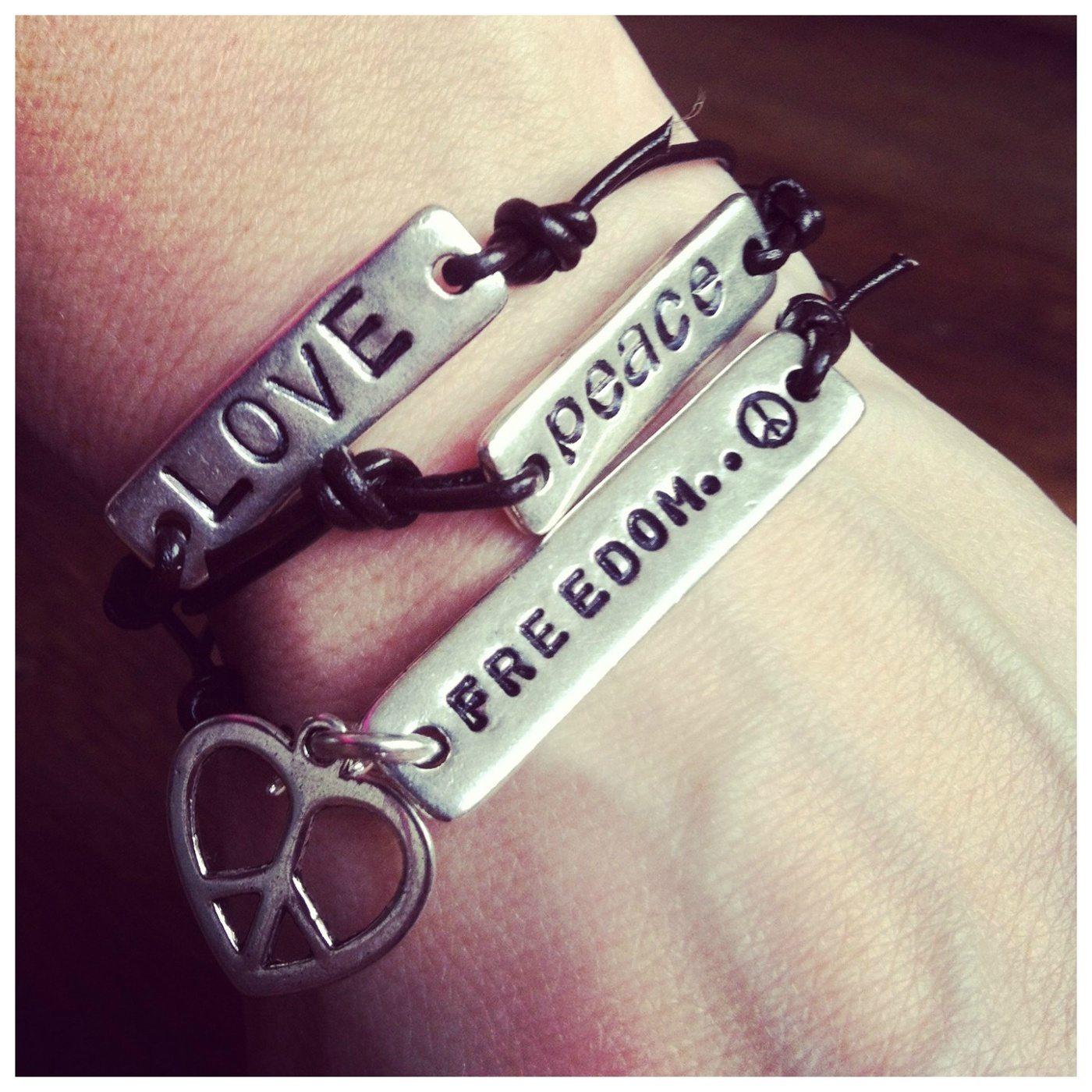 LOVE PEACE FREEDOM