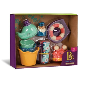 B Toys Wee B Splashy Badset - B Toys Wee B Splashy Badset