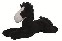 Mjukis häst  - Häst svart