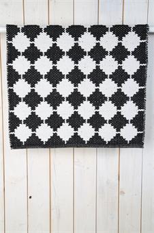 matta-svart matta-gång matta