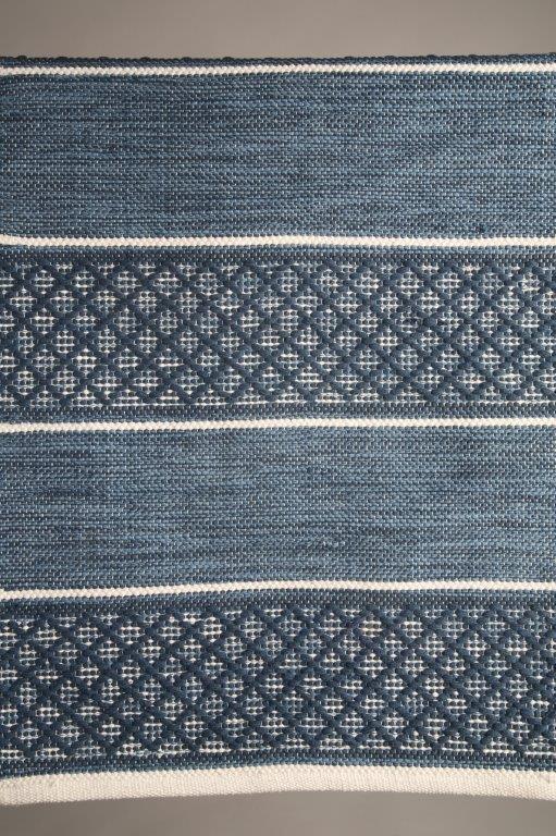 matta-gångmata-blå matta