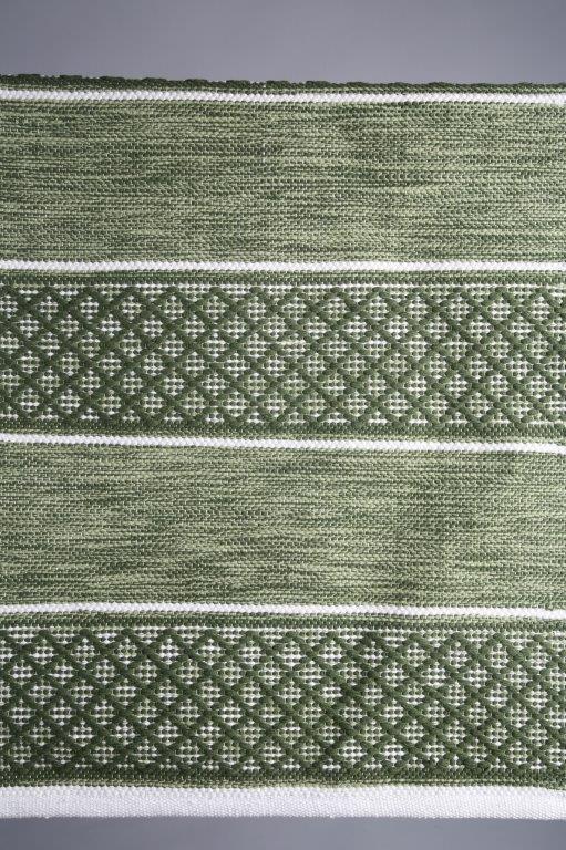 matta-grön matta-gångmatta