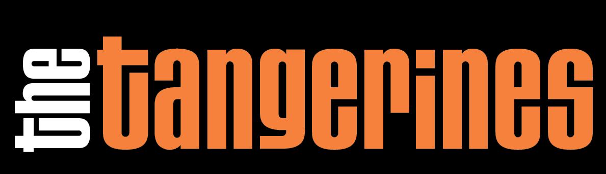 tangerines logo black bg