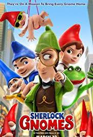 Mästerdetektiven Sherlock Gnomes - 22 april kl. 15.00