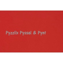Papper Basic A4 Röd 180g - Papper Basic A4 Julröd 180g
