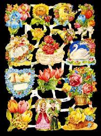 Bokmärke - Blommor - Bokmärke - Blommor