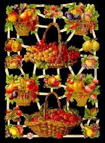Bokmärke - Fruktkorg - Bokmärke - Fruktkorg