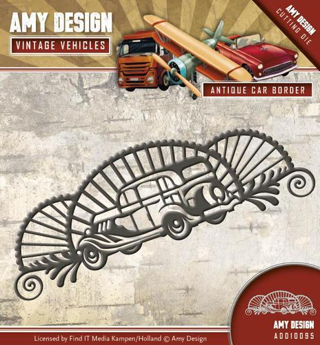 Amy Design Dies - Vintage Vehicles - Antique Car Border