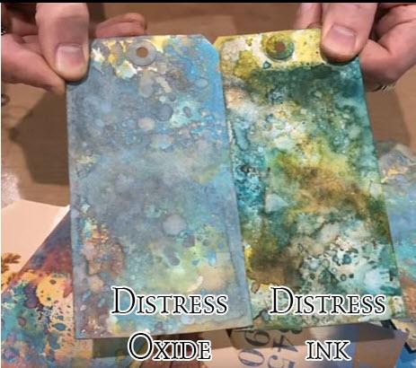 Pyzzlix Distress Oxide - Fossilized Amber - Tim Holtz/Ranger