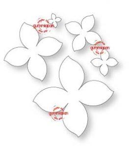 Gummiapan Dies - Fem Blommor - Gummiapan Dies - Fem Blommor