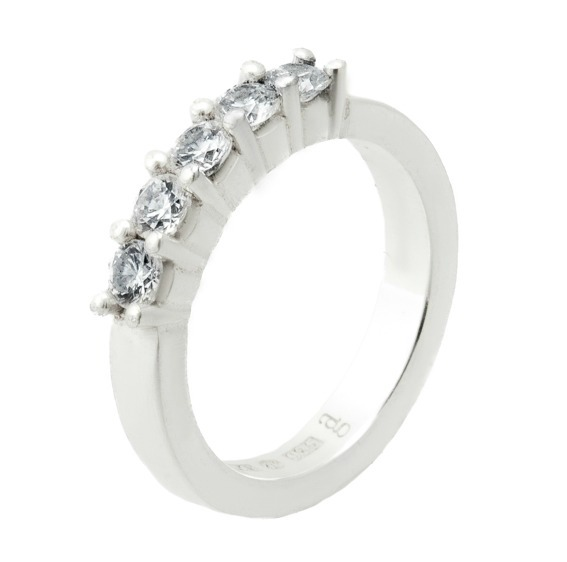Hoburgen-allians med totalt 0,50 ct diamanter