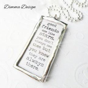 Lött smycke Good friends - Lött smycke Good friends