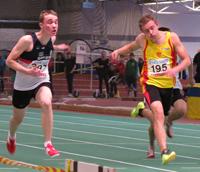 Martin femma i 60-metersfinalen