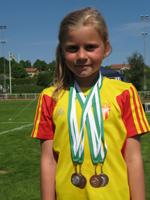 Medaljerad Rebecka