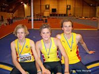 Calle, Fredrick och Gustav