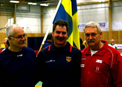 Jöran (silver) Björn (guld) Håkan Jakobsson (brons)