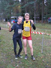 Anders och Hreinn Foto: Kenneth Andersson