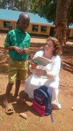 Änglavingar & Give a helping hand Paid Lewis school fees for 3 years and bought orthopedic shoes for him. He loves science!