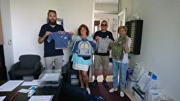 Ann förmedlar de kläder ni skänkt till SOS barnhem i Mojmilo, Sarajevo