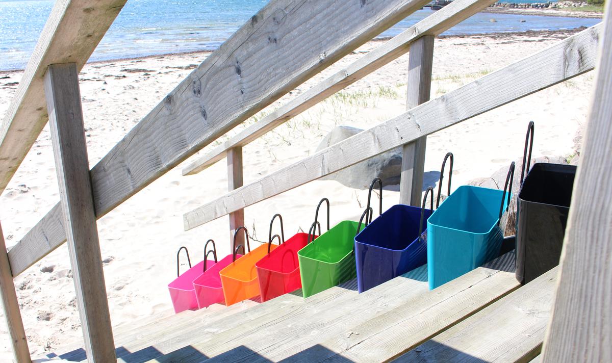 Väskor till stranden