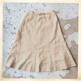 40-tals kjol, fram