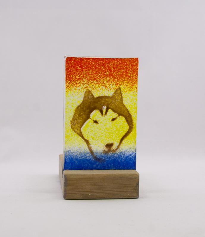 glaslykta polarhund front1