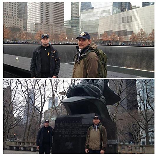 LG och Andreas i New York