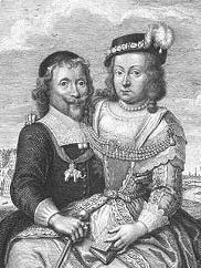 Grev Corfitz Ulfeldt og Leonora Christine