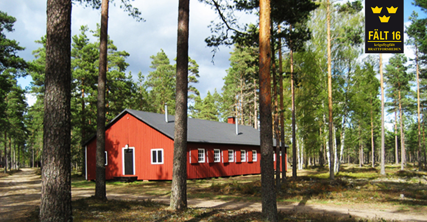 Kok- och matsalsbarack byggd 1943. © Stiftelsen Kff 16