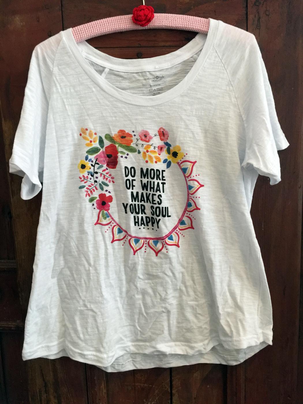 "Tant Sofia-T-shirt ""FLOWER"" Natural Life"