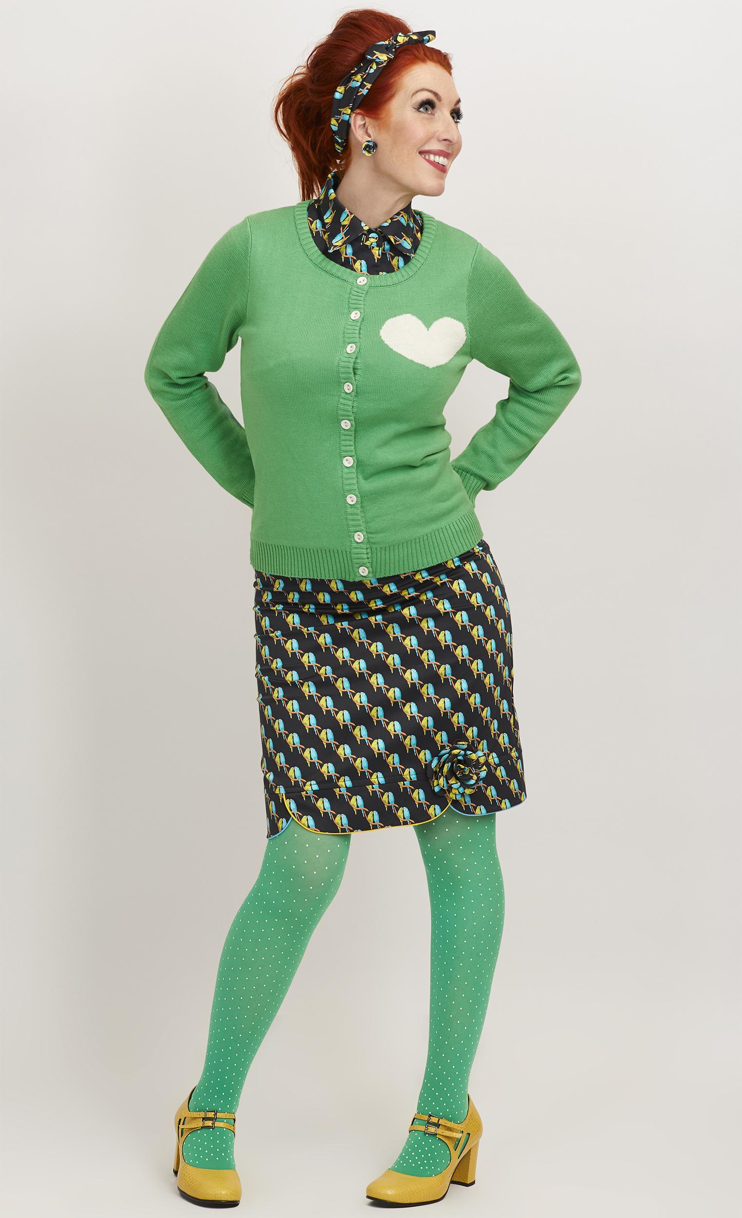 Tant Sofia-Dusty Green kofta, Margot