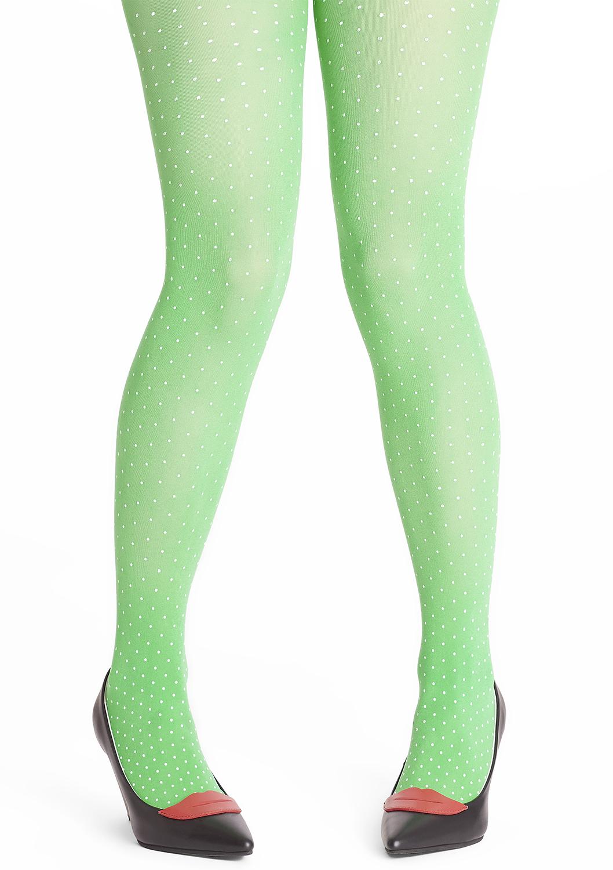 Tant Sofia-Margot tights PLUS -  Grasshopper green