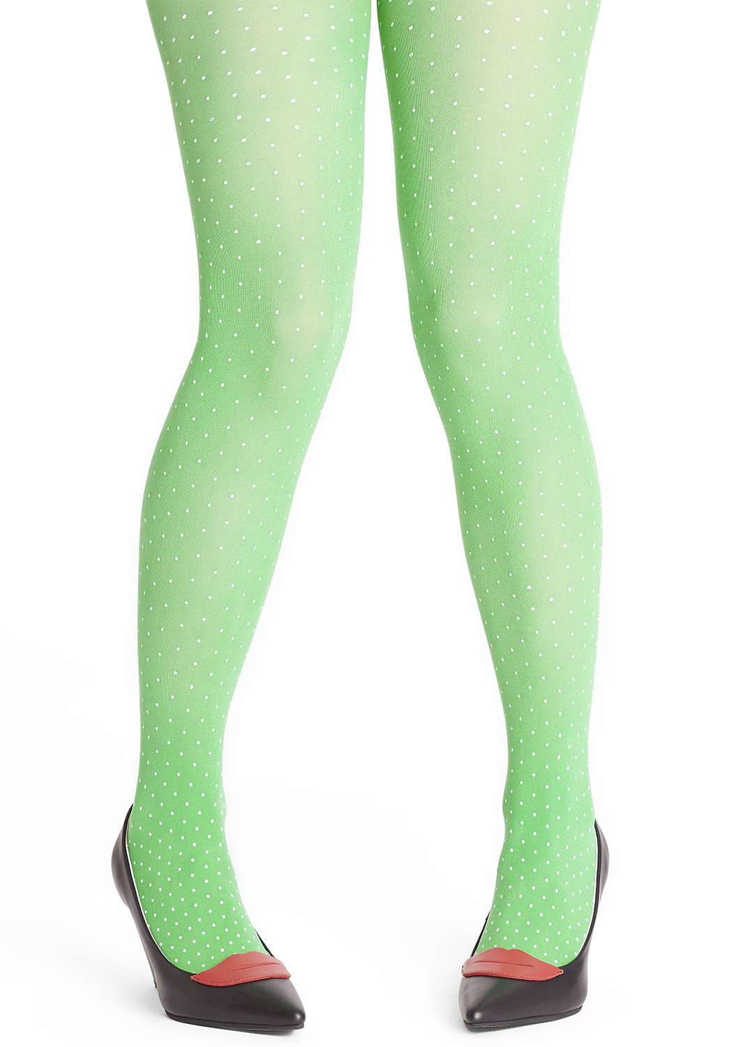 Tant Sofia-Margot tights - Grasshopper green